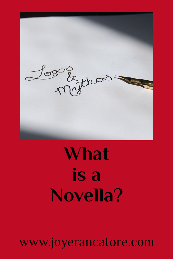 "Next month I plan to write a novella. ""Wonderful!"" you say. ""That's really ... wait. What is a novella?"" ""Great question!"" www.joyerancatore.com"